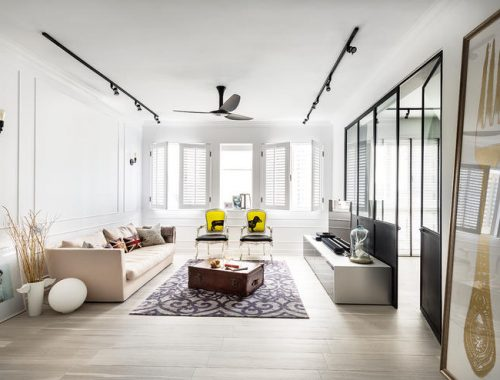 Mooie details in een mooie woonkamer