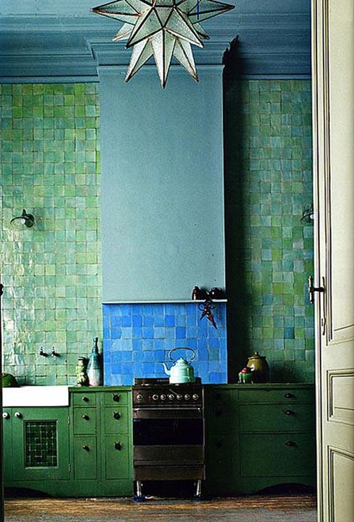 Keuken Kleur Groen : Wow, dit is het perfecte bewijs dat een groene keuken prachtig kan