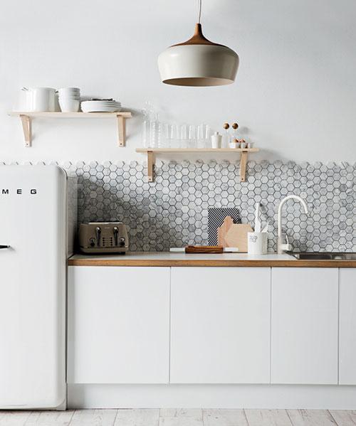 Mooie keuken styling door stylist Jackie Brown
