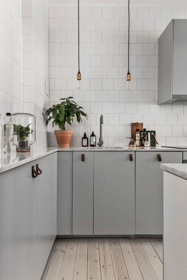 Mooie keuken met twee ingangen