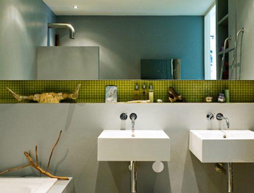 Mooie nieuwbouw badkamer