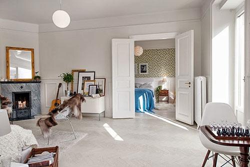 Spiksplinternieuw Mooie scheidingswand tussen woonkamer en keuken | Interieur inrichting JN-65