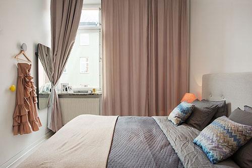 mooie slaapkamer gordijneninterieur inrichting | interieur inrichting, Deco ideeën