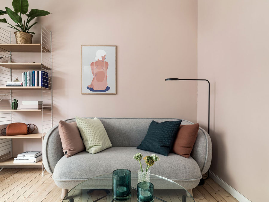 Woonkamer Slaapkamer Combinatie : Mooie woonkamer slaapkamer combinatie in een klein