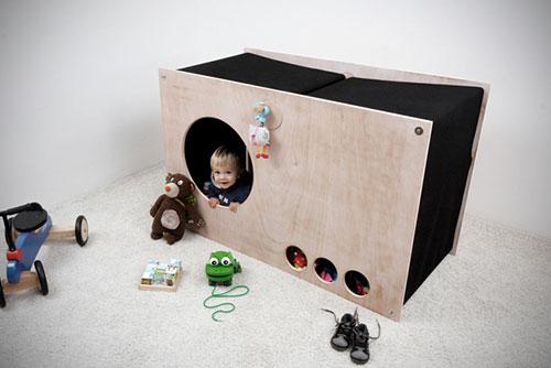 Multifunctionele kinderkamer meubel