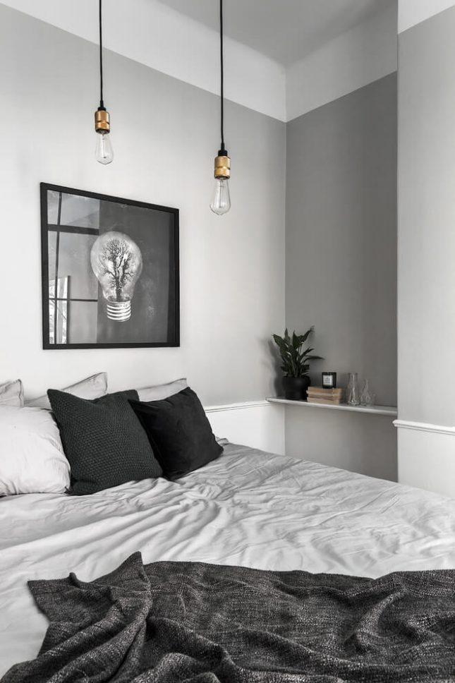 Muurinspiratie in een klein appartement interieur inrichting - Een klein appartement ontwikkelen ...