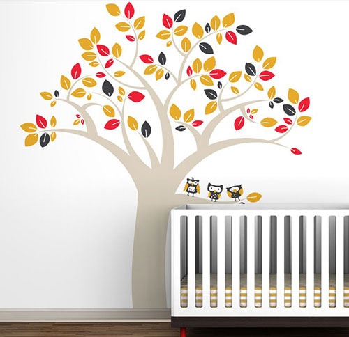 muurstickers babykamer | interieur inrichting, Deco ideeën