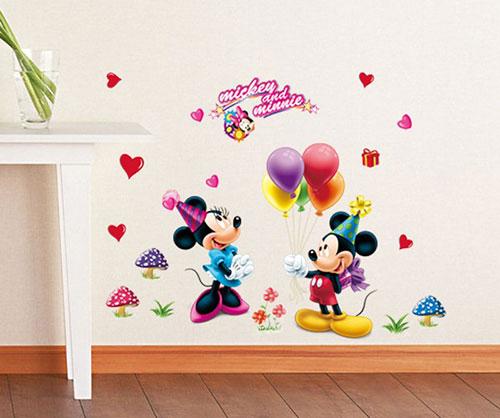 Stickers Kinderkamer Disney.Disney Muurstickers Babykamer