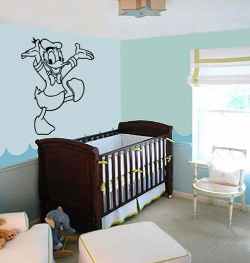 Muurstickers babykamer Disney