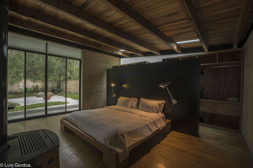Hout Slaapkamer Meubels : Natuurlijke stoere slaapkamer interieur inrichting