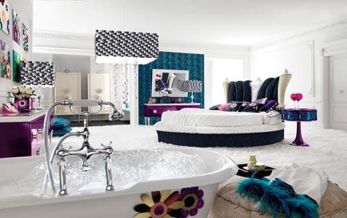 neutrale slaapkamer inrichten met kleur  interieur inrichting, Meubels Ideeën