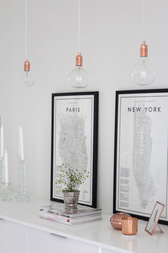 New York illustratie posters