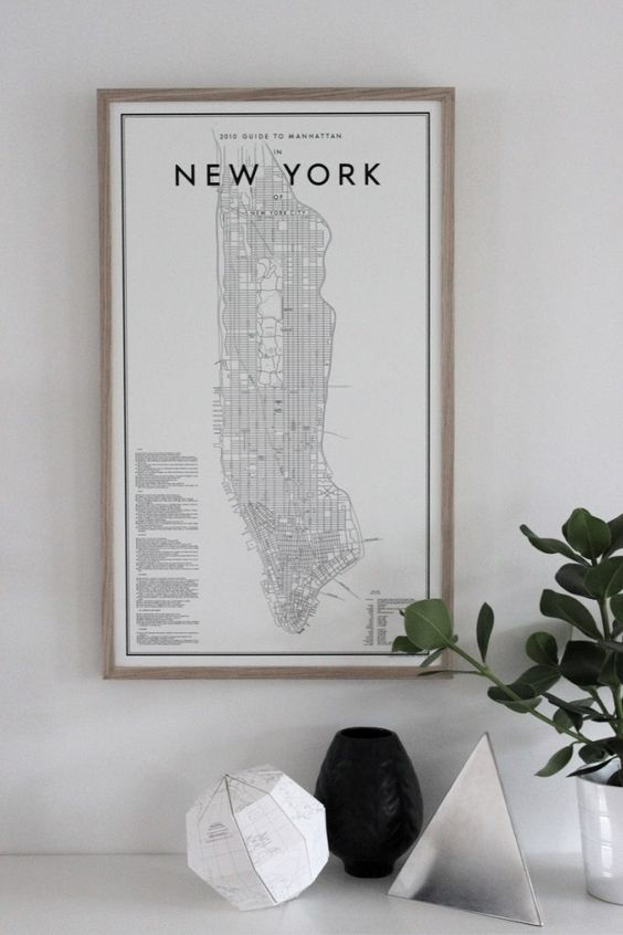 New York illustratie posters