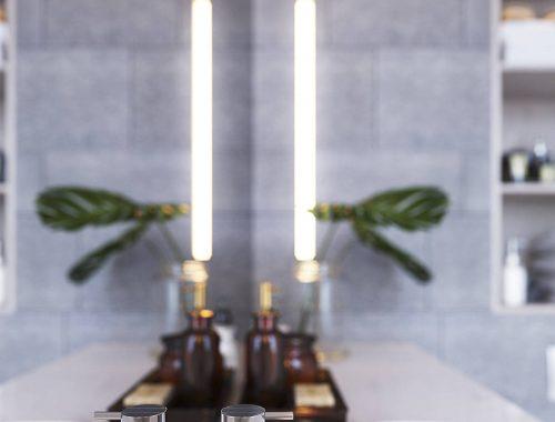 Nieuwbouw badkamer met hoogwaardige materialen