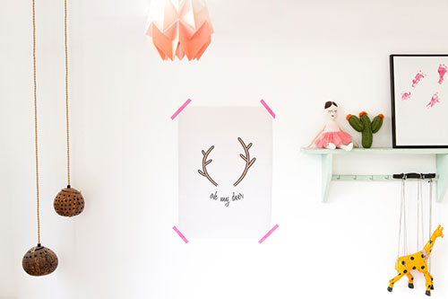 Nieuwe Postercollecties Ohmyhome : Nieuwe collectie ohmyhome lennebelle petites silver and gold