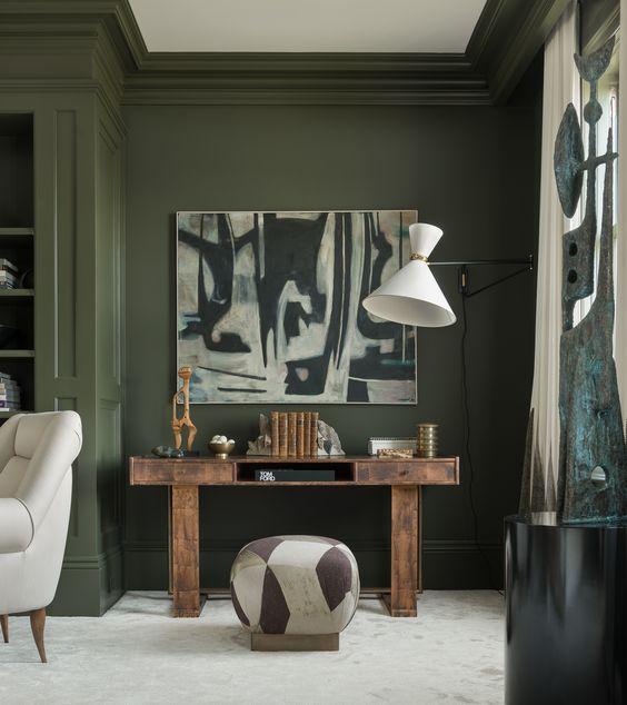10x Olijfgroen in interieur | Interieur inrichting
