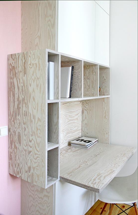 Op maat gemaakte deurombouw met multifunctionele kast