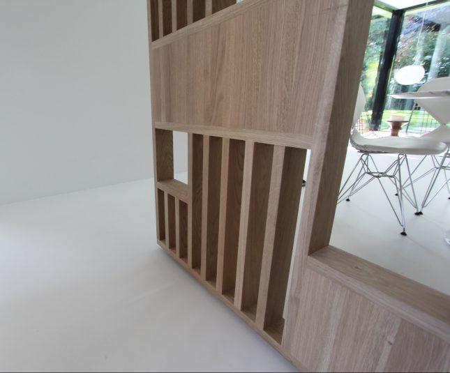 Roomdevider In Woonkamer : Op maat gemaakte roomdivider tussen keuken en woonkamer interieur