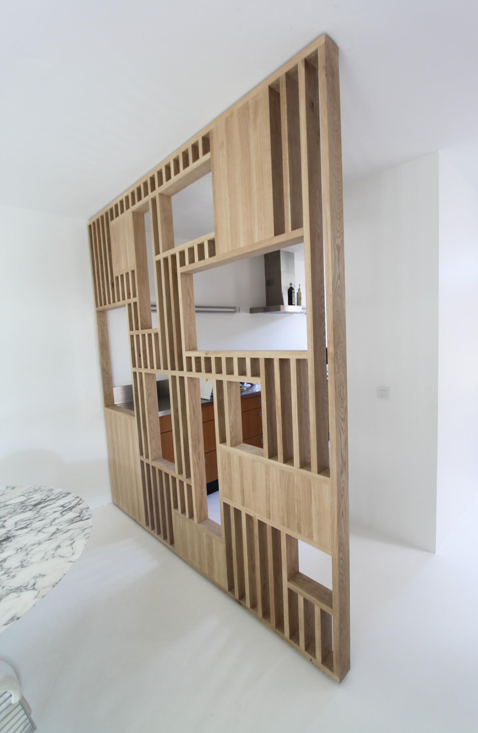 Interieur Ideeen Woonkamer Koloniaal.Op Maat Gemaakte Roomdivider Tussen Keuken En Woonkamer