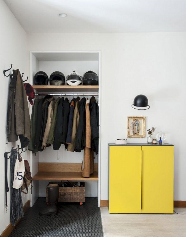 Open hal in de woonkamer