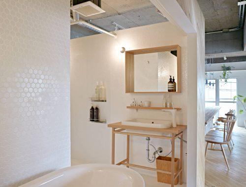 Open Japanse badkamer
