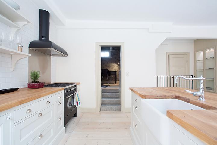 Open keuken in landelijke industri le stijl interieur inrichting - Interieur industriele stijl decoratie ...