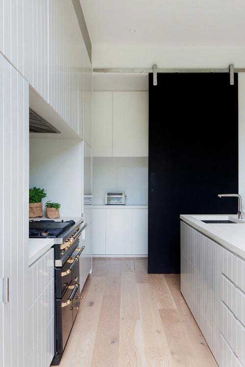 Open keuken met eilandinterieur inrichting interieur inrichting - Open keuken s alon ...