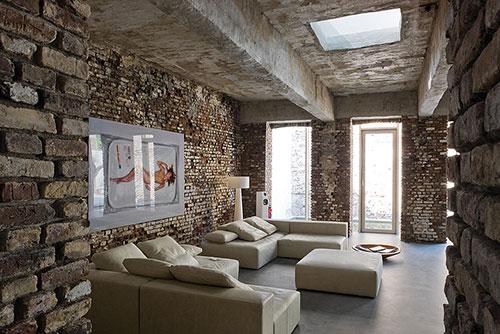 Open loft interieur