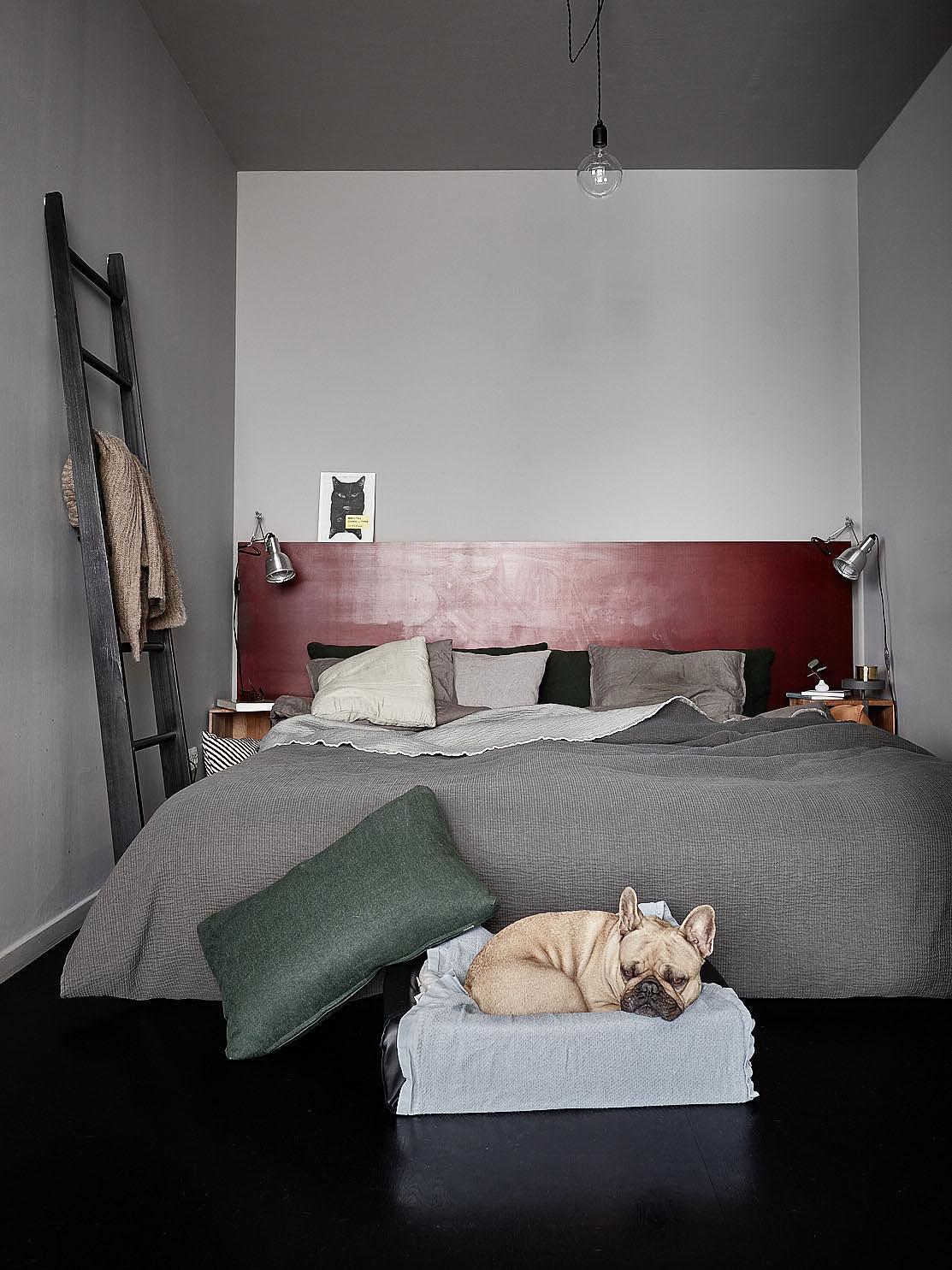 Open slaapkamer van mini loft appartement interieur for Loft appartement