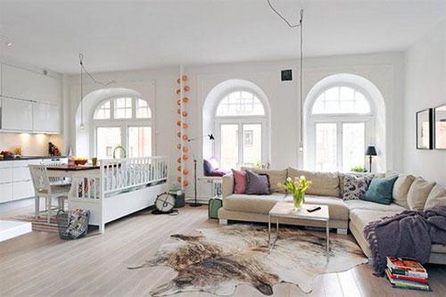open woonkamer indeling  interieur inrichting, Meubels Ideeën