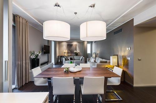 Neutraal interieur in woning in Monaco  Interieur inrichting