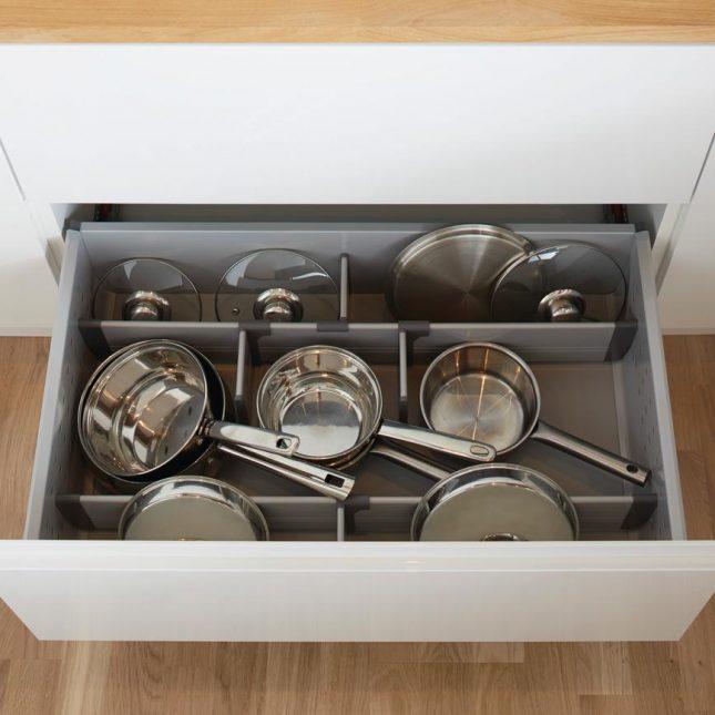 opruimen tips keukenla pannen