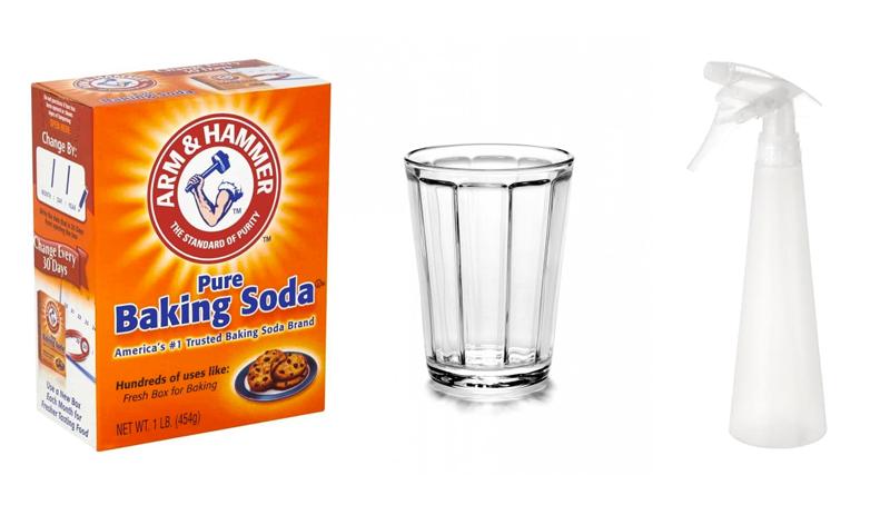 oven schoonmaken baking soda
