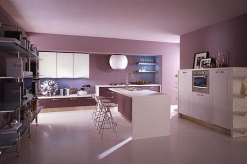 Woonkamer Ideeen Paars.5 Paarse Keukens Interieur Inrichting
