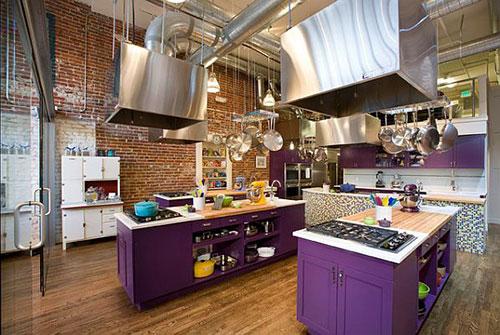 5 paarse keukens interieur inrichting for Interieur aubergine