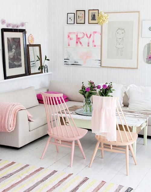 Pastel interieurinterieur inrichting interieur inrichting - Pastel slaapkamer kind ...