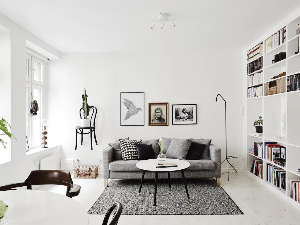 Perfecte styling van een kleine woonkamer | Interieur inrichting