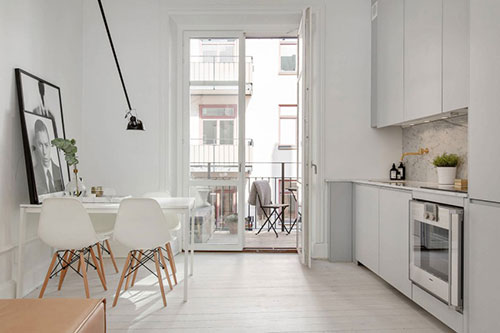 Perfecte woonkamer van een klein appartement interieur inrichting - Een kleine rechthoekige woonkamer geven ...