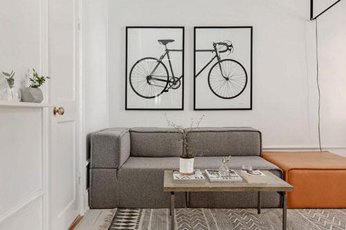 Perfecte woonkamer van een klein appartement interieur for Inrichting kleine woonkamer voorbeelden
