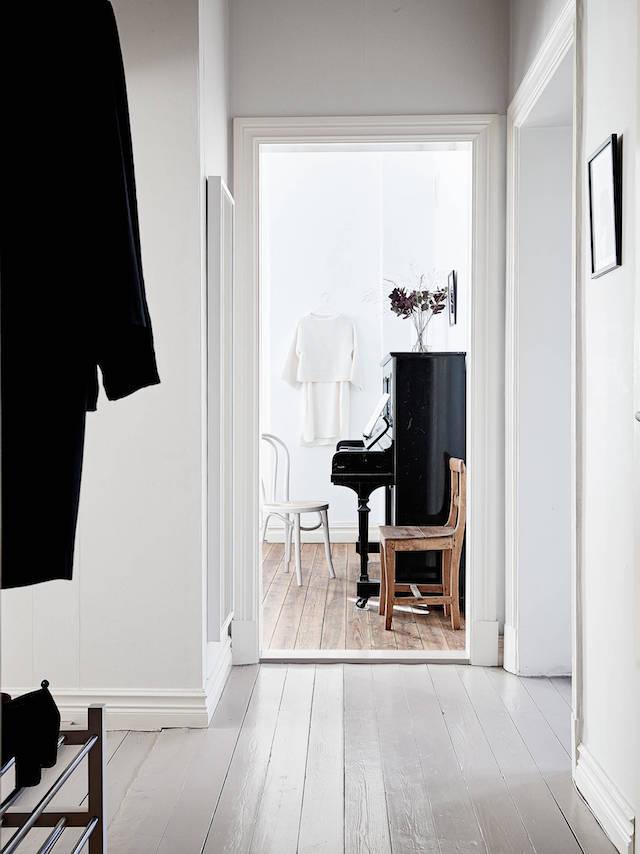 Piano in huis