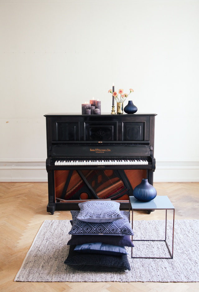 Piano in huis