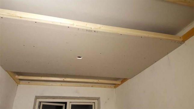plafond verlagen hoogte