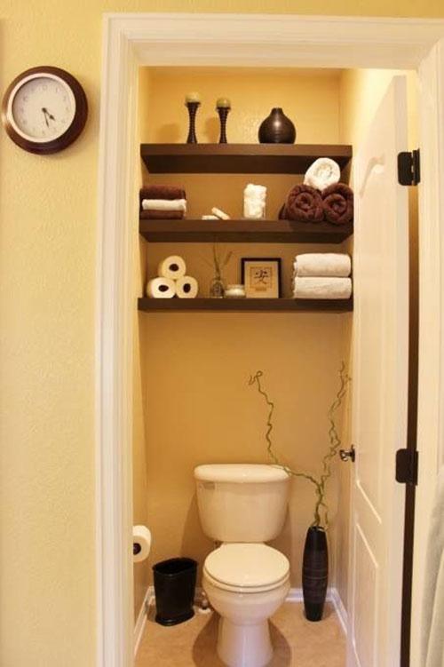 Toilet Leuk Inrichten.Plank Ophangen In Het Toilet Interieur Inrichting