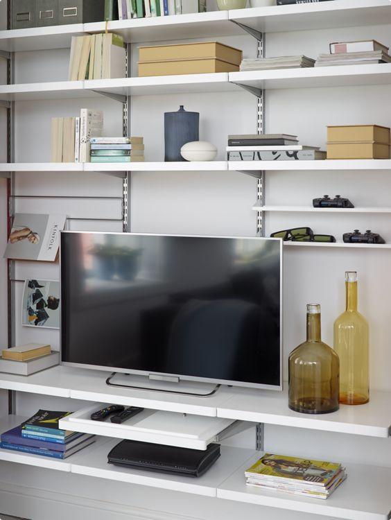 plankensysteem tv meubel