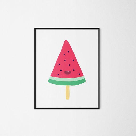poster-watermeloen
