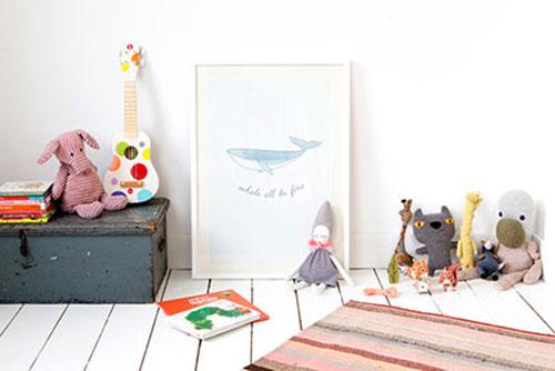 Posters voor de babykamer