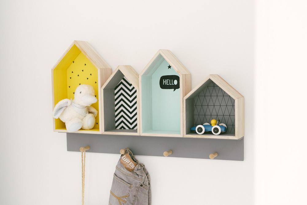 Praktisch en leuk ingerichte kinderkamer interieur inrichting - Kinderzimmer schulkind ...
