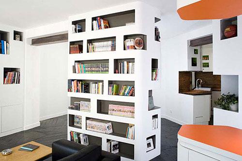 Praktische indeling voor klein appartement