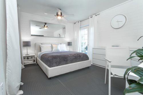 Praktische slaapkamer inrichting