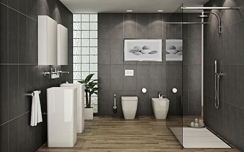 Badkamer Plafond Praxis : Praxis badkamer interieur inrichting